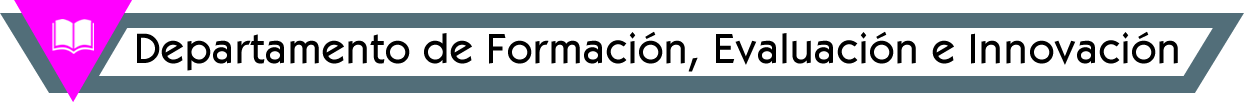 Departamento de Formación, Evaluación e Innovación