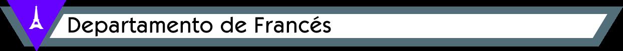 Departamento de Francés